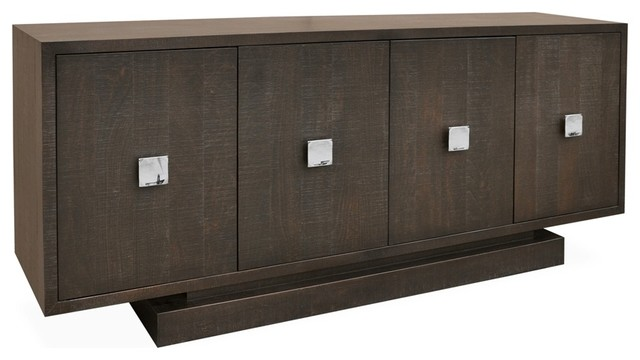 Hudson Sideboard Textured Coffee Transitional Buffets
