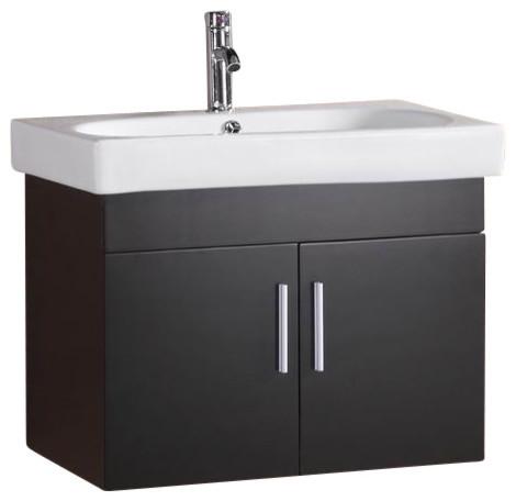 Floating Vanity Espresso 28 Modern Bathroom Vanities And Sink