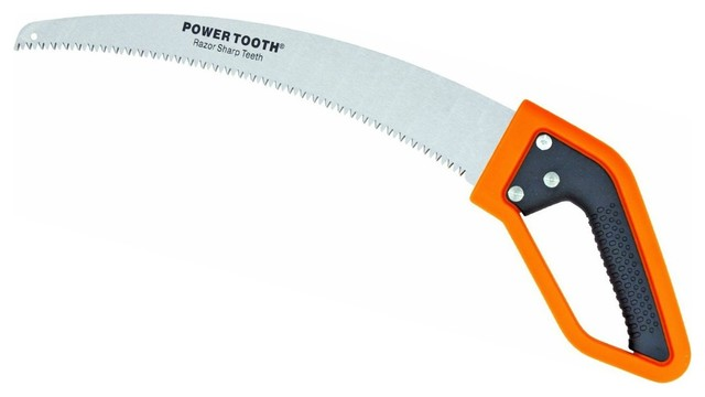 Fiskars Power Tooth Softgrip D Handle Pruning Saw 15