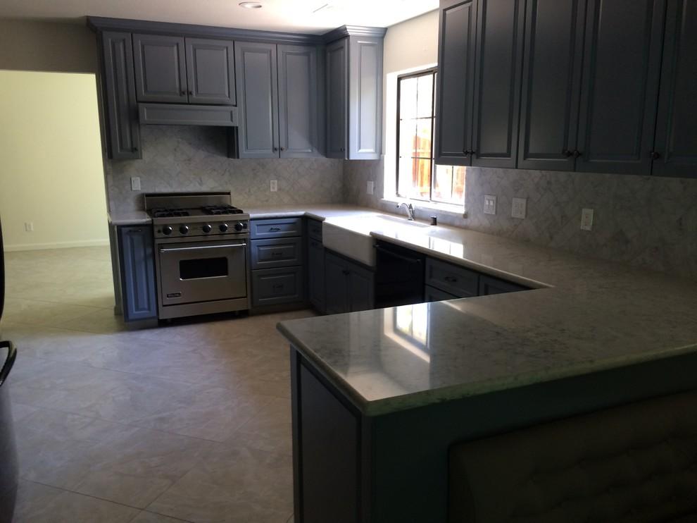 Lodi Updated Marble Kitchen