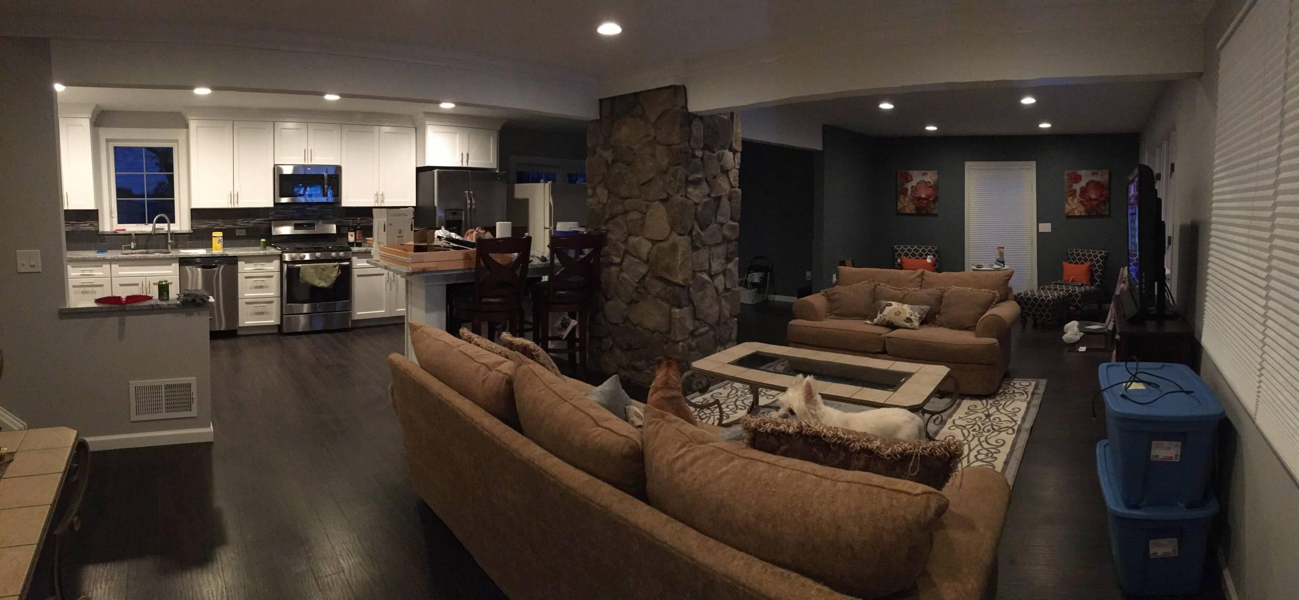 Kitchen/First Floor Remodel