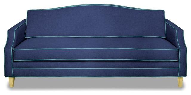 Blackburn Sofa, Navy/ocean Blue.