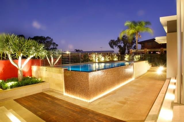 Contemporary Pool Perth Mondo Landscapes contemporary-pool