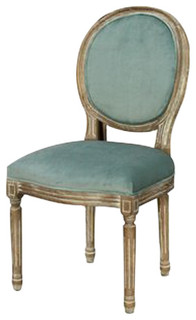 French Provincial Style Oval Dinning Chair