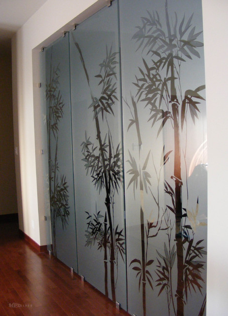 Glass Room Dividers Asian Other by MPD Glass Vinyl Graphics