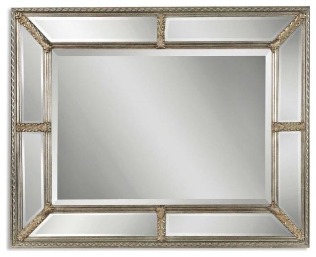 Uttermost Lucinda Antique Silver Mirror.