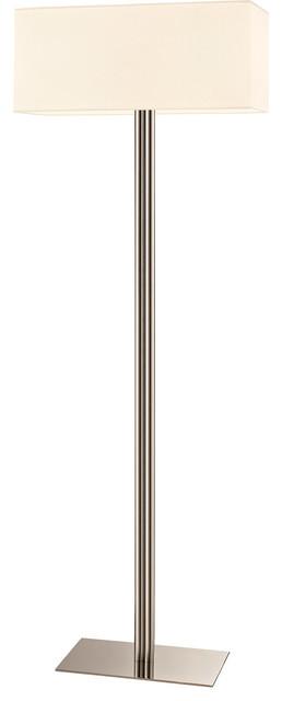 Koncept Equo Led Floor Lamp, Chrome