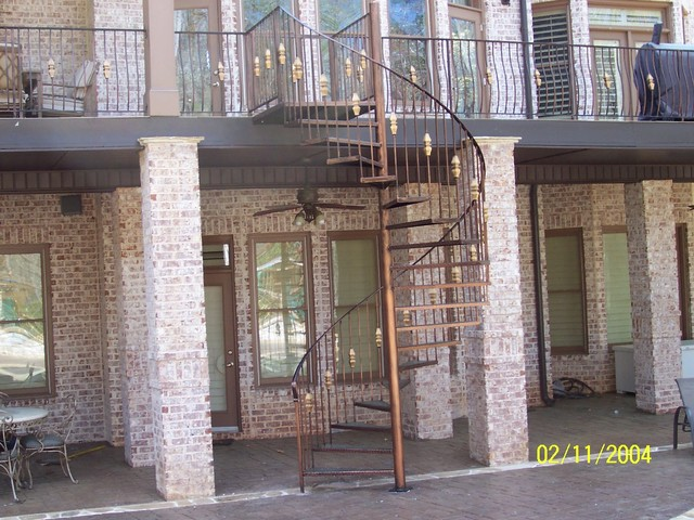 Great Spiral Staircase / Metal Stairs Contemporary Staircase