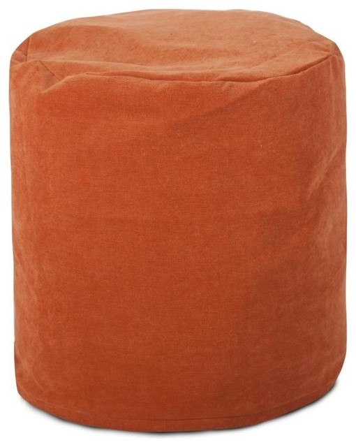 Villa Small Pouf, Orange