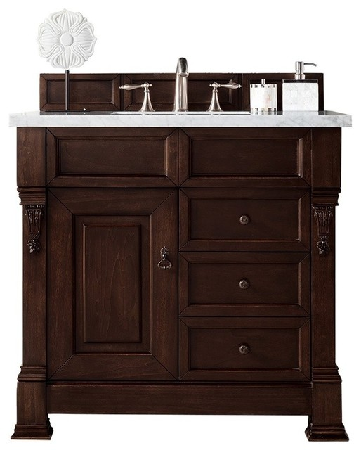 "Wentworth Single Cabinet With Drawers, No Top, 36""."