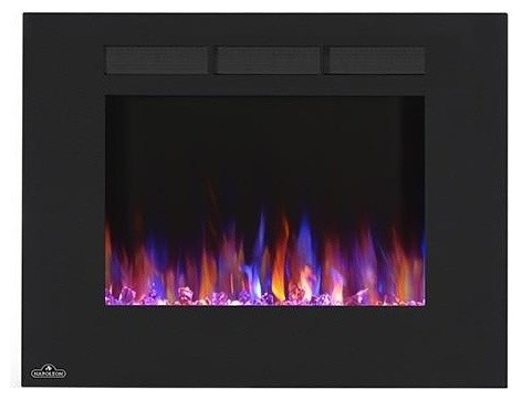 Napoleon 32 Linear Wall Mount Electric Fireplace.
