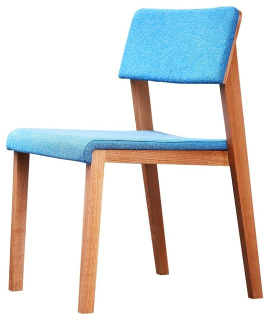 Blue Armless Accent Chair Armless Chair Blue Modern Armchairs And Accent  Chairs By Shopladder