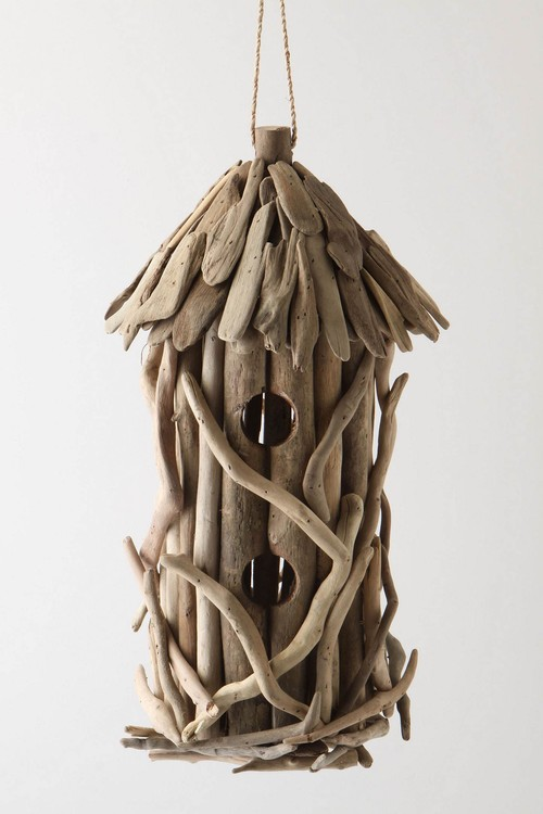 Driftwood Birdhouse traditional birdhouses