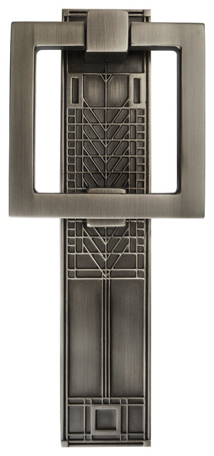 Frank Lloyd Wright Collection Tree Of Life Door Knocker Antique Pewter