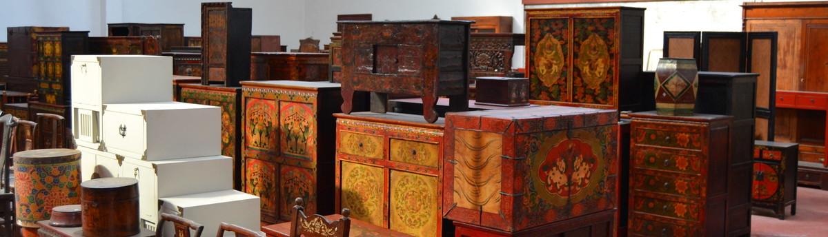 Elegant arredare senza confini mobili etnici da cina tibet for Arredamento etnico brescia