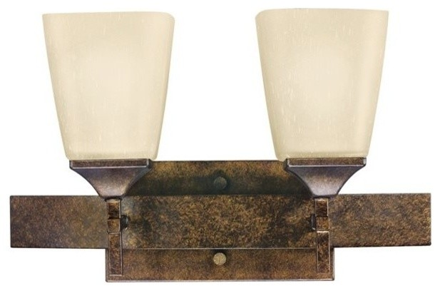 Rustic Wall Sconce For Bathroom : Kichler Lighting Souldern X-ZBM5135 Transitional Wall Sconce - Rustic - Bathroom Vanity Lighting ...