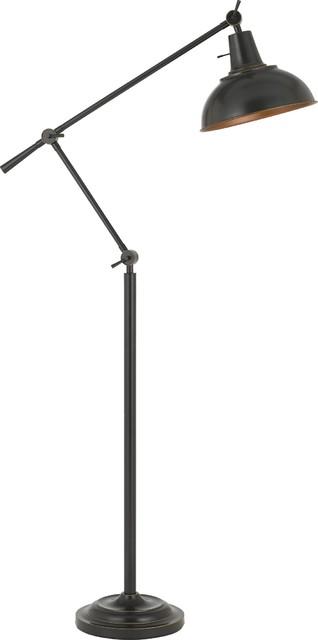 Dimond Lighting D2471 Assissi 1 Light Arc Floor Lamp