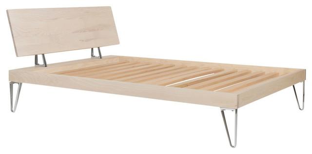 area inc bruno bed ash full modern platform beds