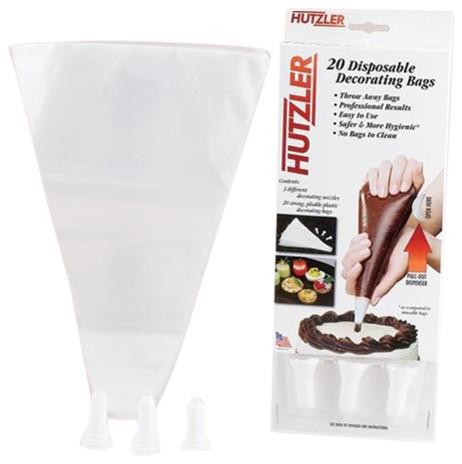 Hutzler Disposable Decorating Bag Set.