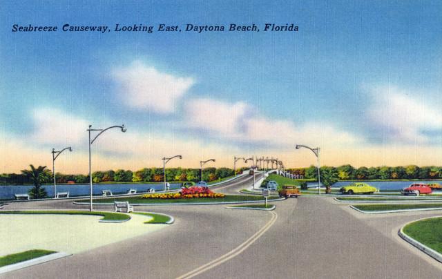 Quot Daytona Beach Fl Eastern View From Seabreeze Causeway