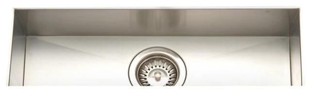 Contempo Trough Bar Prep Sink Contemporary Bar Sinks