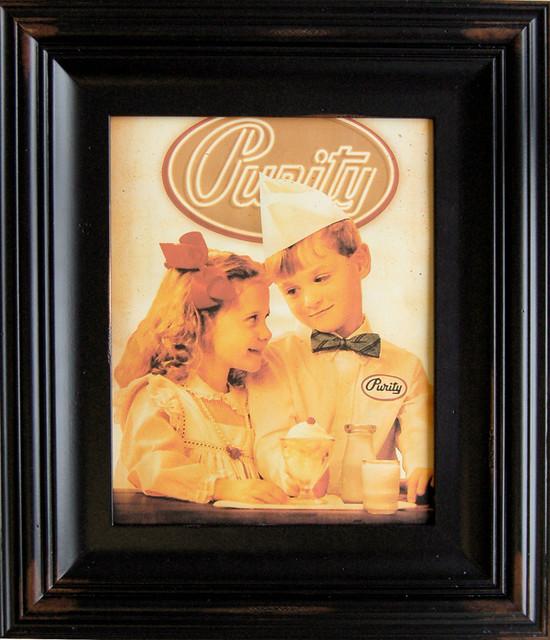 tuscan vintage black frame distressed 11x14 frame rustic picture frames