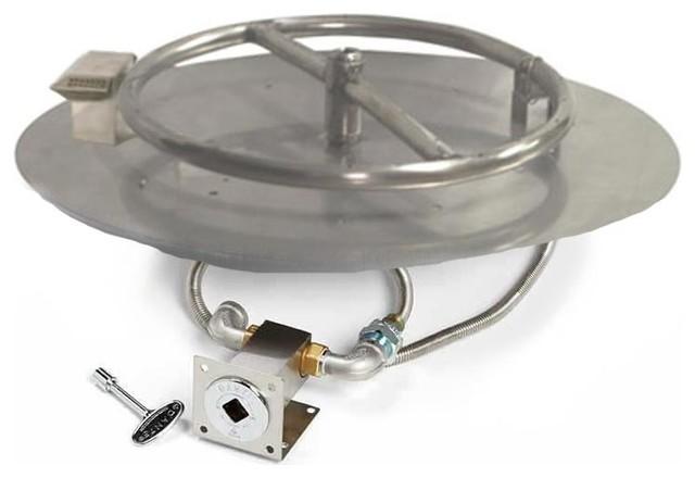 Match Light Fire Pit Burner Kit 14 Pan Natural Gas
