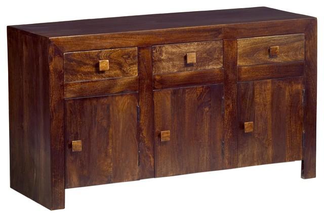 Santiago Dark Mango Wood Large Sideboard