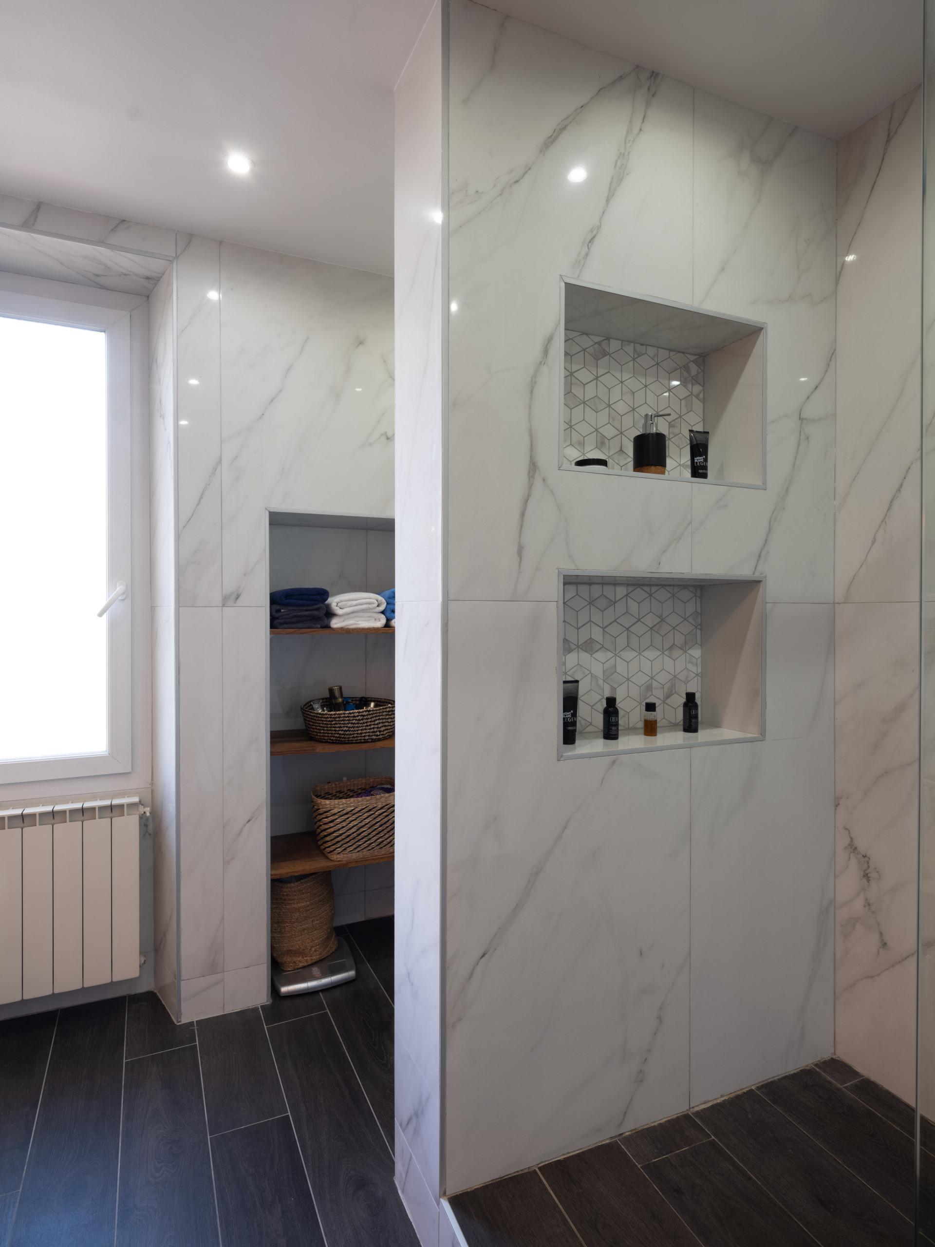 Transformation d'une Salle de bain au coeur de Marseille