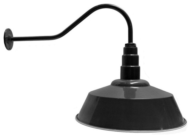 shop houzz ark lighting 20 standard steel dome 23