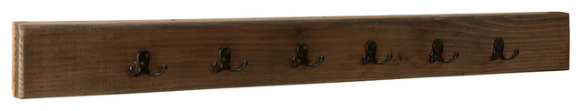 Chancellor Reclaimed Wood Wall-Mounted Hook.