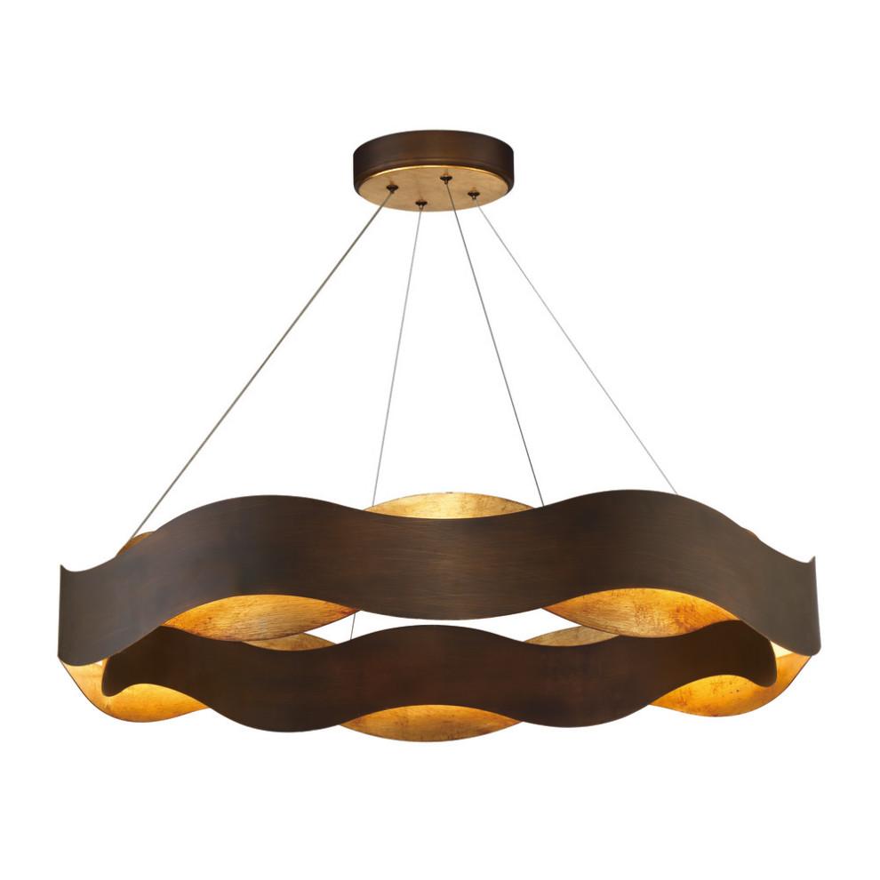 Eurofase Lighting 31384-018 Vaughan Chandelier, Bronze ...