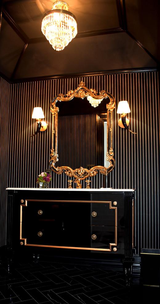 Long Island House - Powder Room