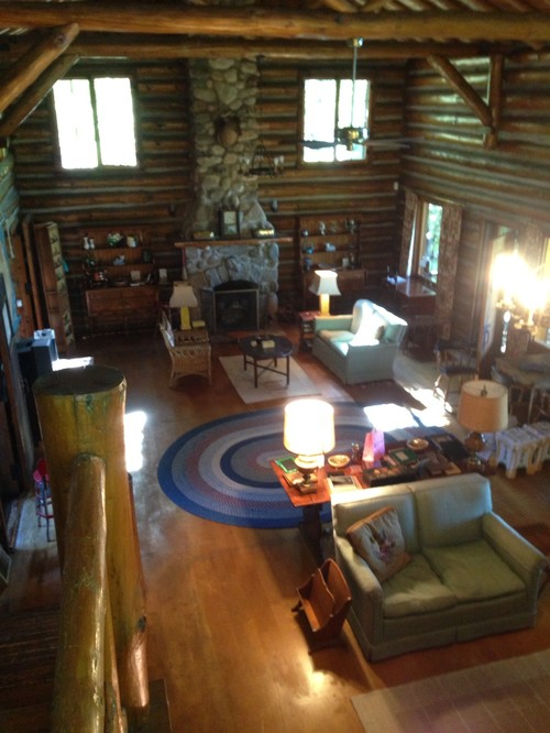 Perfect Modernize This Log Cabin Room