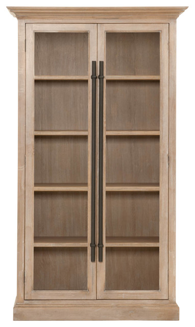 Sutton Tall Cabinet - Transitional - China Cabinets And Hutches - by Orient Express Furniture