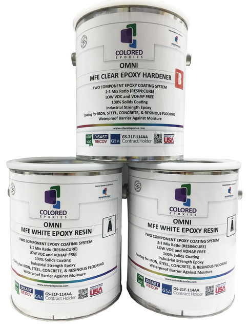 shop houzz colored epoxies epoxy paint 2 1 part for