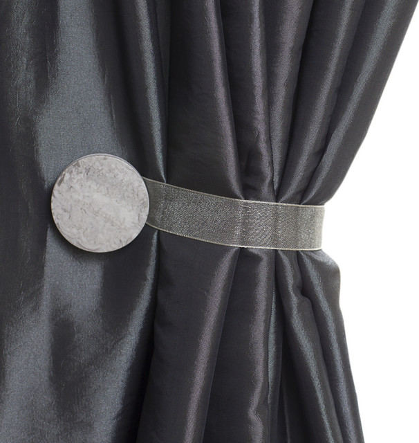 Contemporary Curtain Tie Backs - Curtains Design Gallery