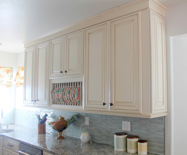 Diamond Plate Rack traditional-kitchen : plate rack cabinet - Pezcame.Com