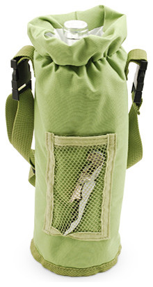 Grab and Go Insulated Bottle Carrier, Green by True
