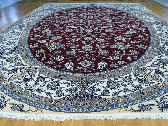 Persian Nain 250 Kpsi Mansion Size Wool