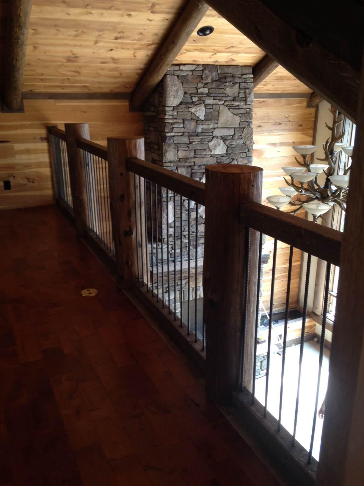 New Construction Log Home