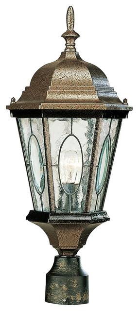 Trans Globe Lighting TG 4716 Traditional Outdoor Post Lantern Light    Traditional   Post Lights   By Rlalighting