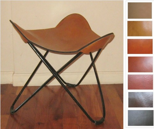 I Just Ordered Your Butterfly Leather Chair With Wooden Legs And Wonder If  You Have A Matching Ottoman.