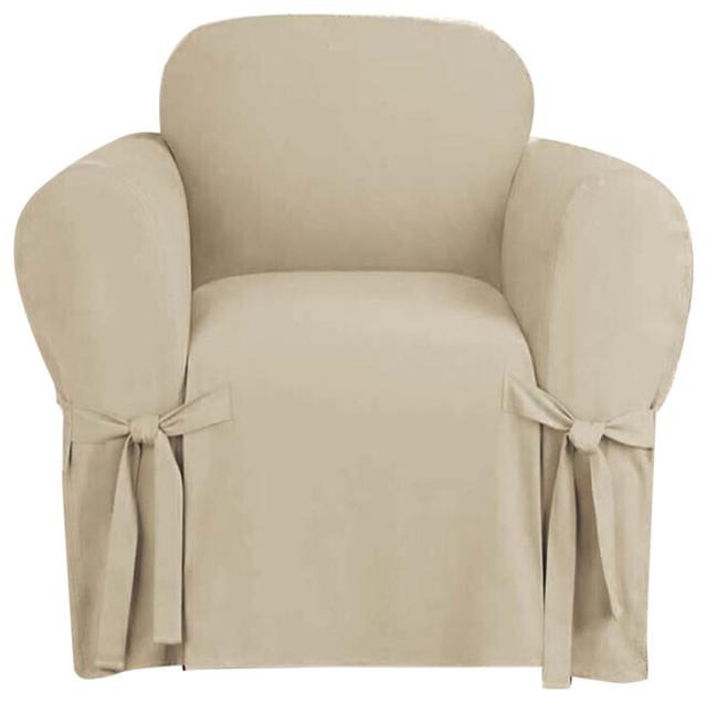 Shop Houzz Kashi Home Microsuede Furniture Slipcover