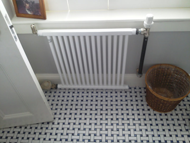 New Steam Radiator System Boston Ma Traditional