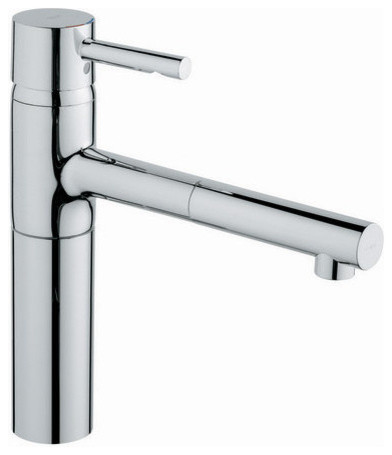 Grohe Essence Pullout Spray Kitchen Faucet With Silkmove Cartridge