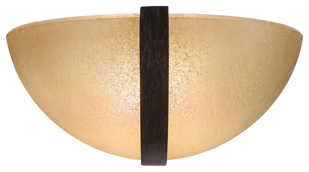 342-357-PL Iron Oxide Minka Lavery 1 Light Sconce