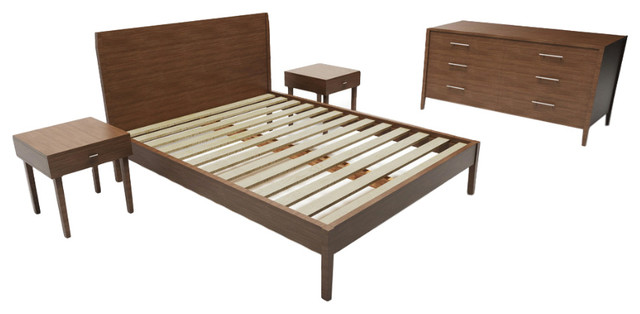 Mid Century Modern Bedroom Furniture Set Full