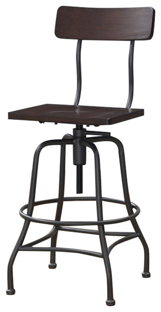 Pleasant Grifton Adjustable Height Stool Caraccident5 Cool Chair Designs And Ideas Caraccident5Info