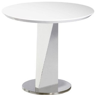 Lola White End Table Contemporary Side Tables And End Tables By Hedgeapple